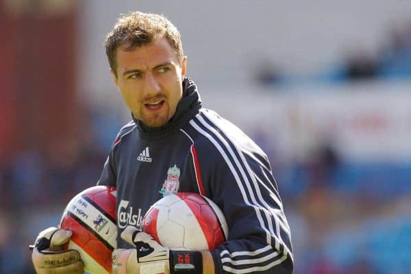 Birmingham, England - Sunday, March 3, 2007: Liverpool's goalkeeper Jerzy Dudek before the Premiership match against Aston Villa at Villa Park. (Pic by David Rawcliffe/Propaganda)