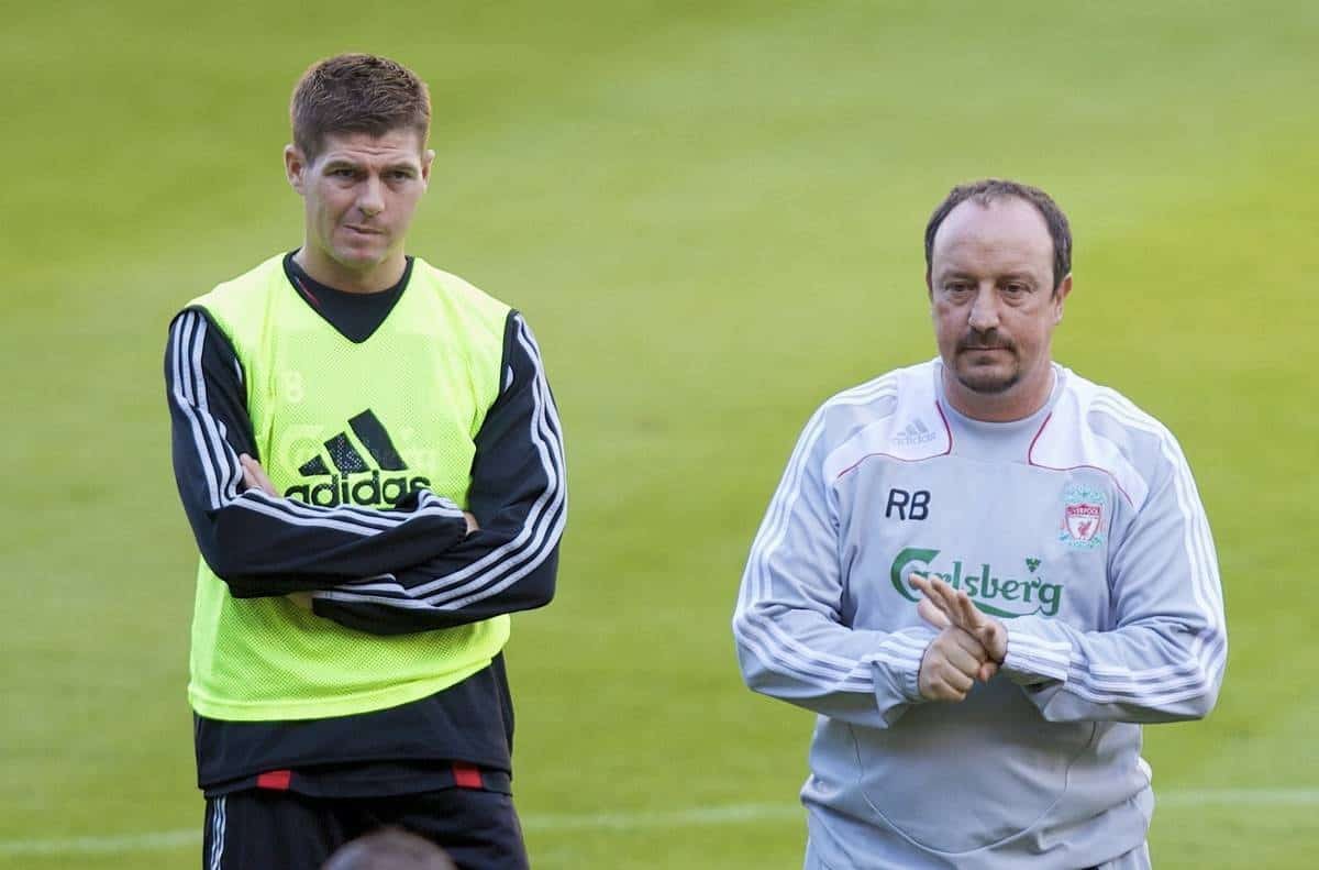 Newcastle boss Benitez 'happy to talk to Gerrard' about MK Dons