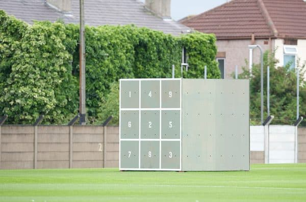 LIVERPOOL, ENGLAND - Tuesday, August 26, 2008: 'Sweat boxes' training aids at Liverpool's Melwood Training Ground. (Photo by David Rawcliffe/Propaganda)