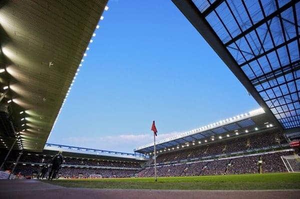 LIVERPOOL, ENGLAND - Sunday, January 25, 2009: A general view of Liverpool's Anfield stadium. (Photo by David Rawcliffe/Propaganda)