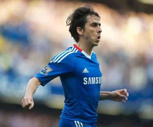 LONDON, ENGLAND - Saturday, August 14, 2010: Chelsea's Yossi Benayoun during the Premiership match against West Bromwich Albion at Stamford Bridge. (Pic by: Chris Brunskill/Propaganda)