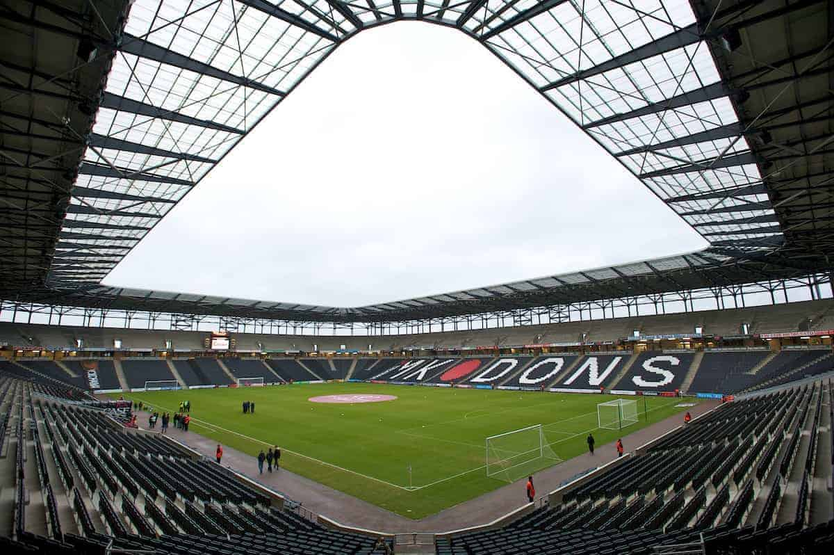 MILTON KEYNES, ENGLAND - Saturday, January 15, 2011: General view of Stadium MK during the Football League One match. (Photo by Gareth Davies/Propaganda)