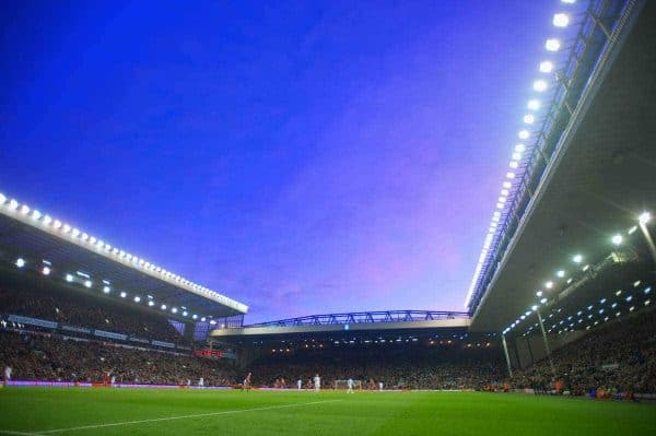 Kick off at Anfield is 13:30 (UK) Pic: David Rawcliffe/Propaganda