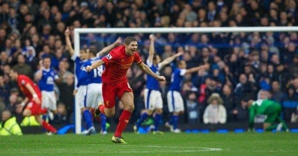 Everton v Liverpool [Team Sheets]