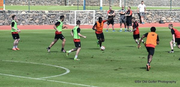 Liverpool mid-season training, Tenerife