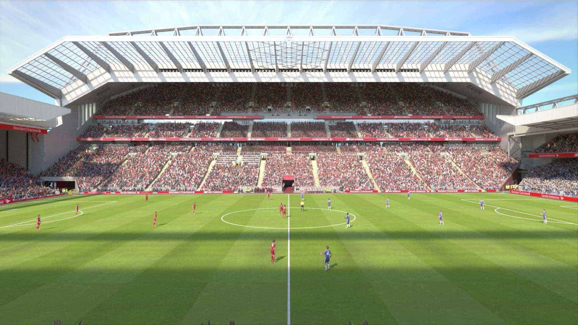 Photos: How Anfield's New Main Stand Will Look Once Complete