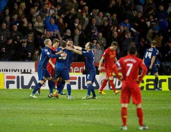 Vs Liverpool 2 0 Oldham: Liverpool To Play Oldham Athletic In FA Cup After Latics