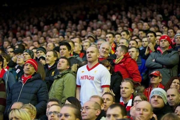 Liverpool supporters overwhelmingly vote to support rail seating