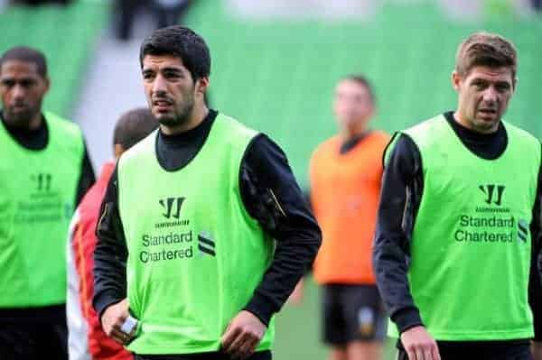 Football - Liverpool FC Preseason Tour 2013 - Training