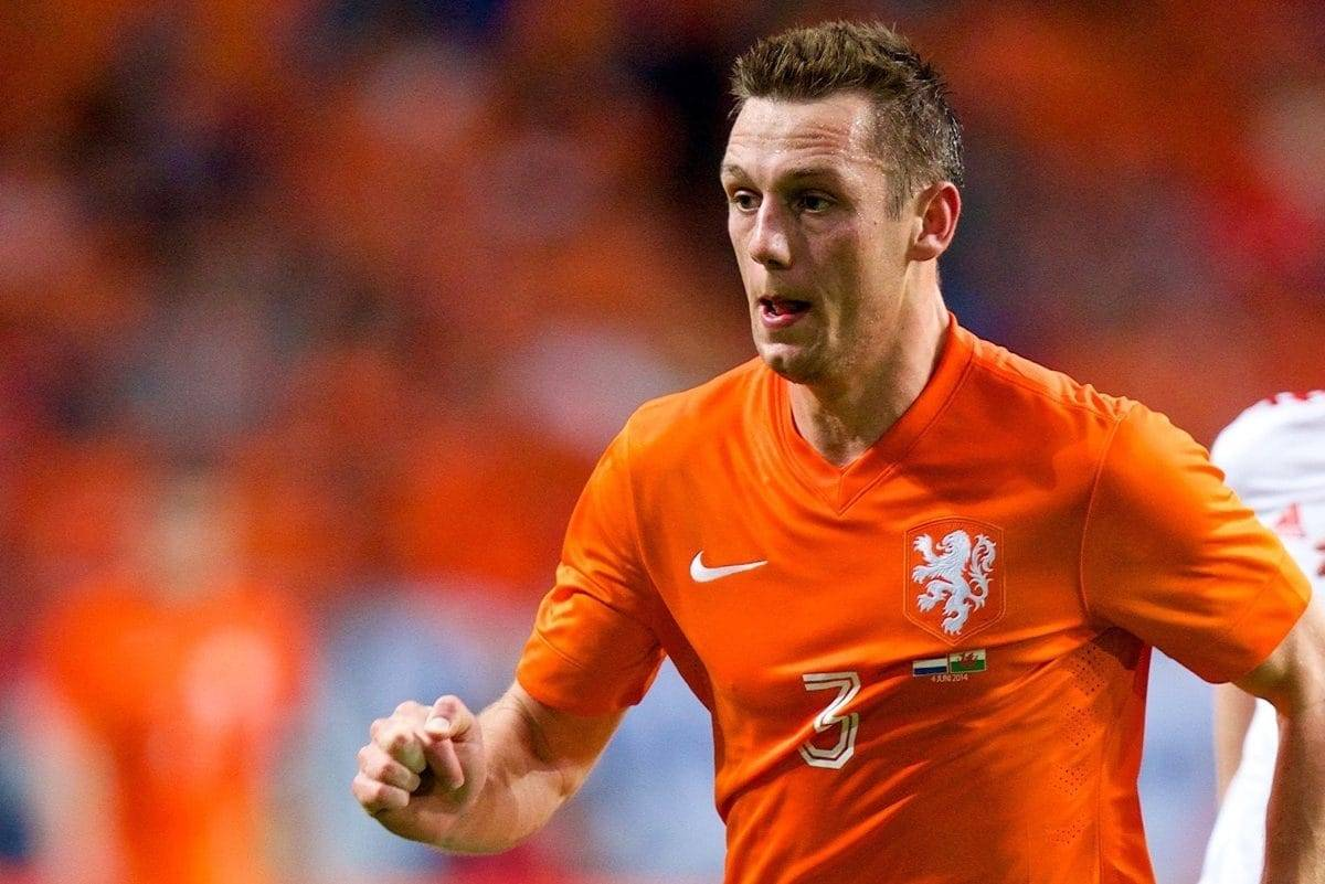 AMSTERDAM, NETHERLANDS - Wednesday, June 4, 2014: Netherlands' Stefan de Vrij in action against Wales during the International Friendly match at the Amsterdam Arena. (Pic by David Rawcliffe/Propaganda)
