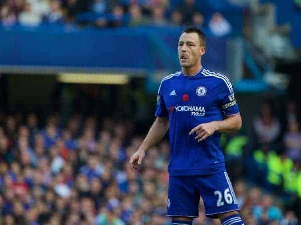 Chelsea's captain John Terry in action against Liverpool during the Premier League match at Stamford Bridge. (Pic by Lexie Lin/Propaganda)