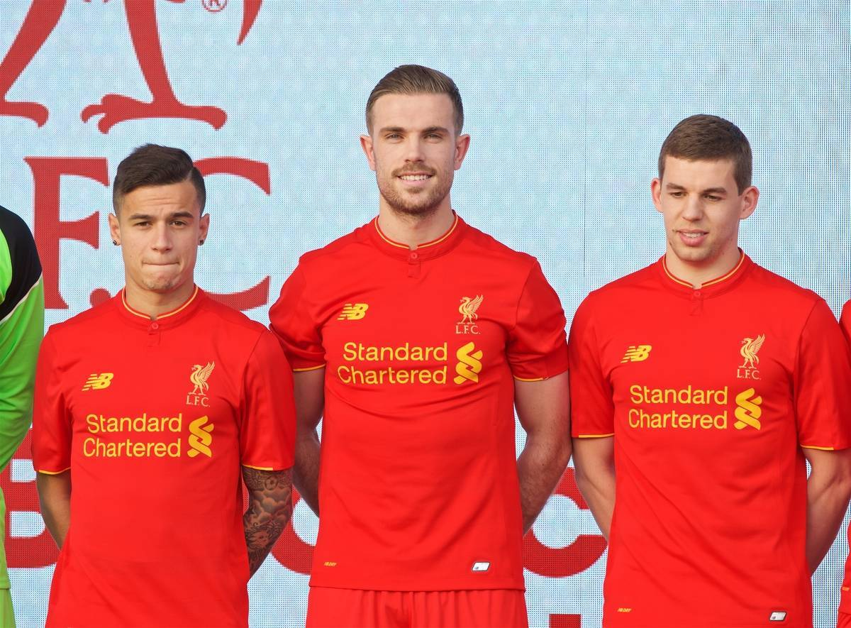 Liverpool Kit Launch 2016-2017 - YouTube