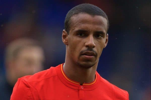 Liverpool's Joel Matip during a preseason friendly match against Tranmere Rovers at Prenton Park. (Pic by Bradley Ormesher/Propaganda)