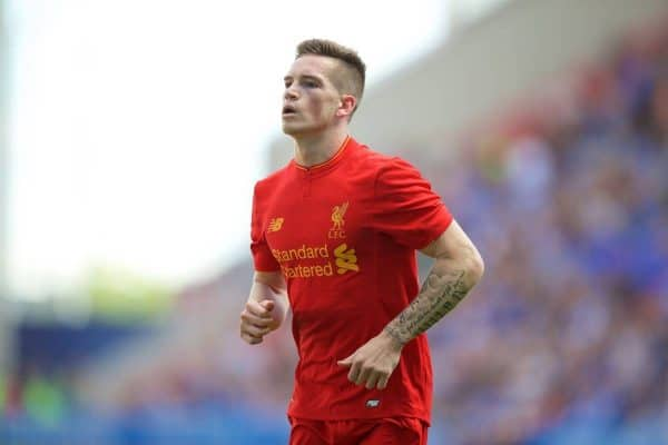 Liverpool's Ryan Kent in action against Wigan Athletic during a pre-season friendly match at the DW Stadium. (Pic by David Rawcliffe/Propaganda)