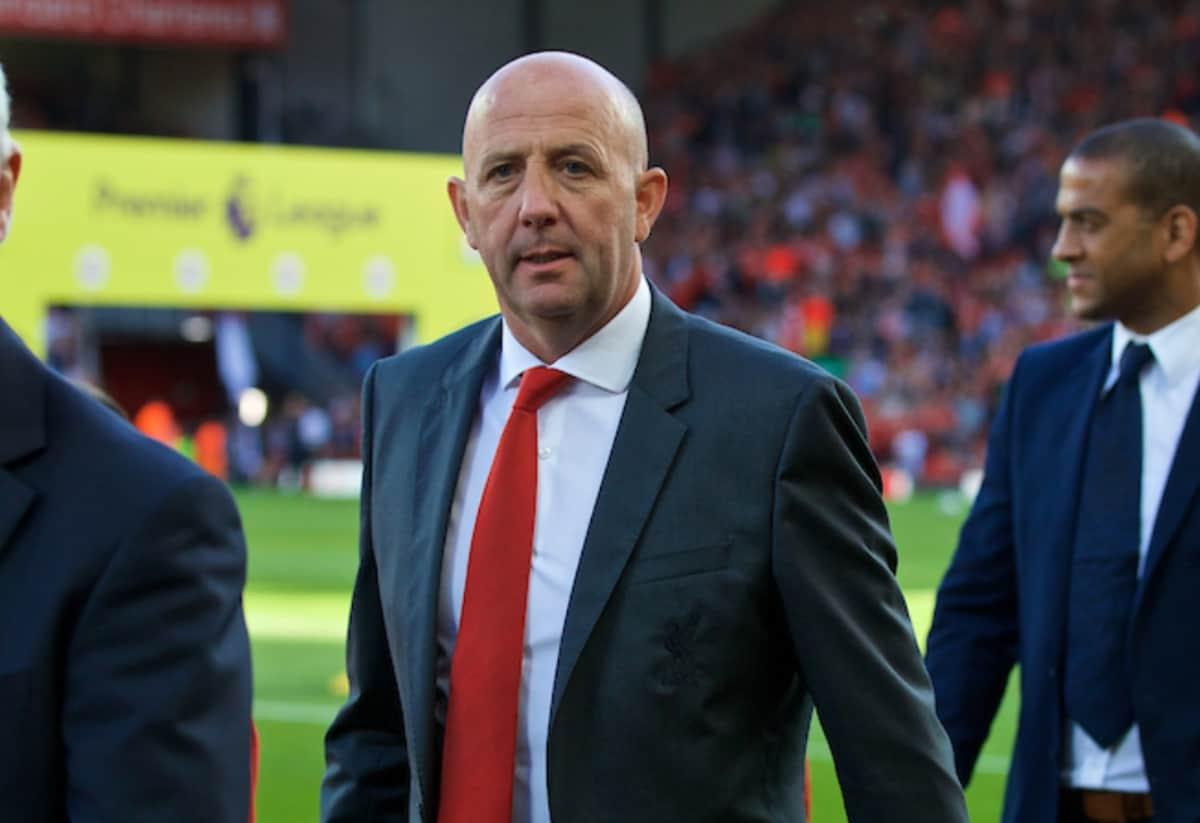LIVERPOOL, ENGLAND - Saturday, September 10, 2016: Former Liverpool player Gary Mcallister before the FA Premier League match against Leicester City at Anfield. (Pic by David Rawcliffe/Propaganda)
