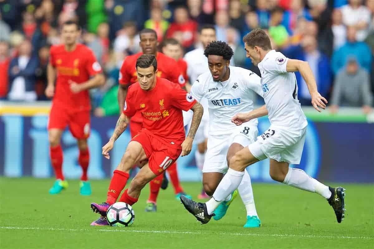 Jurgen Klopp criticises Liverpool's defending in loss to Swansea