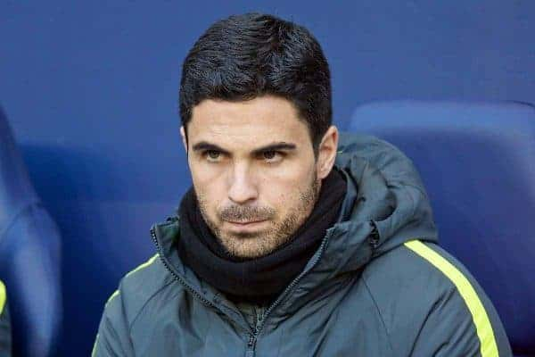 MANCHESTER, ENGLAND - Saturday, November 5, 2016: Manchester City's coach Mikael Arteta during the FA Premier League match against Middlesbrough at the City of Manchester Stadium. (Pic by David Rawcliffe/Propaganda)