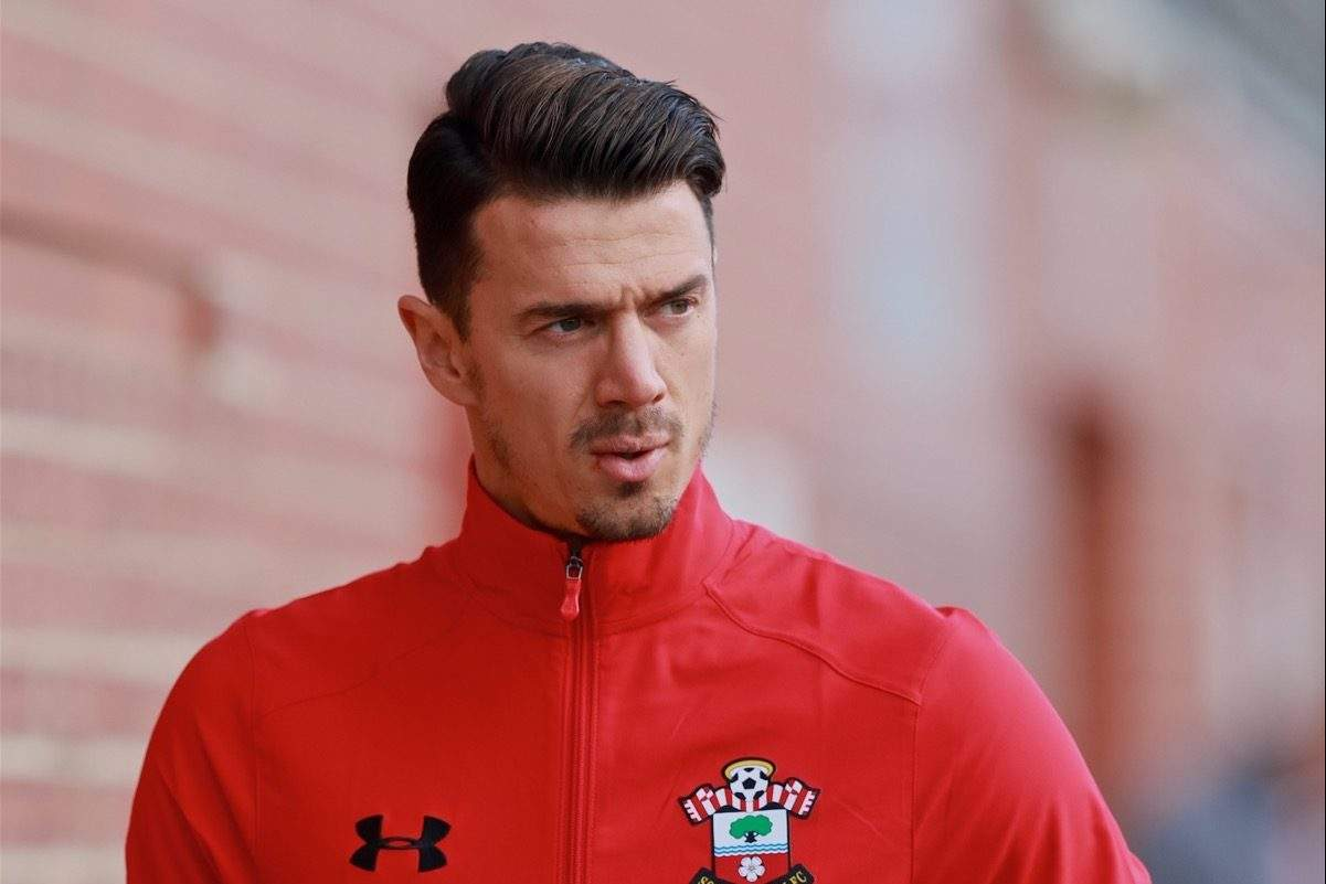 SOUTHAMPTON, ENGLAND - Saturday, November 19, 2016: Southampton's captain Jose Fonte arrives ahead of the FA Premier League match against Everton at St. Mary's Stadium. (Pic by David Rawcliffe/Propaganda)