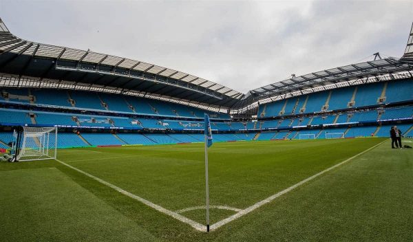 MANCHESTER, ENGLAND - Saturday, December 3, 2016: A general view of the City of Manchester Stadium before the FA Premier League match between Manchester City and Chelsea. (Pic by Gavin Trafford/Propaganda)