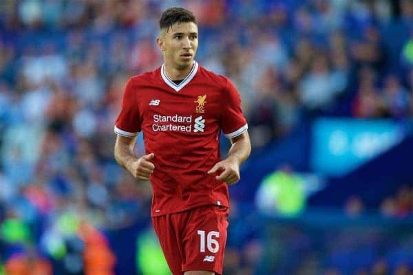 Liverpool's Marko Grujic in action against Tranmere Rovers during a preseason friendly match at Prenton Park. (Pic by David Rawcliffe/Propaganda)