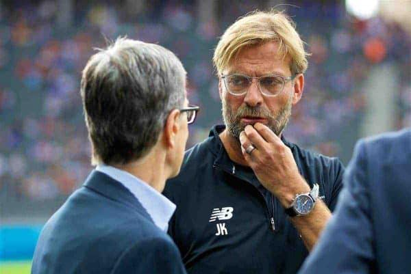 Jurgen Klopp concerned by defensive issues ahead of new season