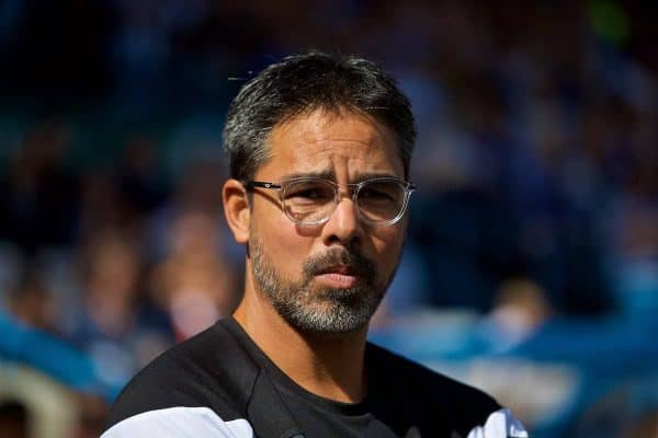 HUDDERSFIELD, ENGLAND - Saturday, August 26, 2017: Huddersfield Town's manager David Wagner before the FA Premier League match between Huddersfield Town and Southampton at the John Smith's Stadium. (Pic by David Rawcliffe/Propaganda)