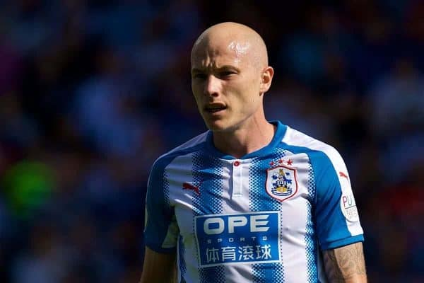 HUDDERSFIELD, ENGLAND - Saturday, August 26, 2017: Huddersfield Town's Aaron Mooy during the FA Premier League match between Huddersfield Town and Southampton at the John Smith's Stadium. (Pic by David Rawcliffe/Propaganda)