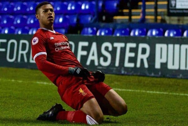 Liverpool agree contract with Rhian Brewster