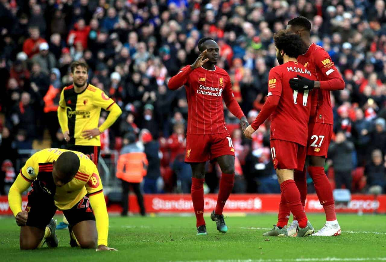 Records on the road with No. 19 on the line – Watford vs. Liverpool Preview