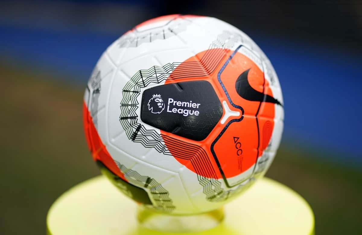 Matchday, general Premier League ball (John Walton/PA)
