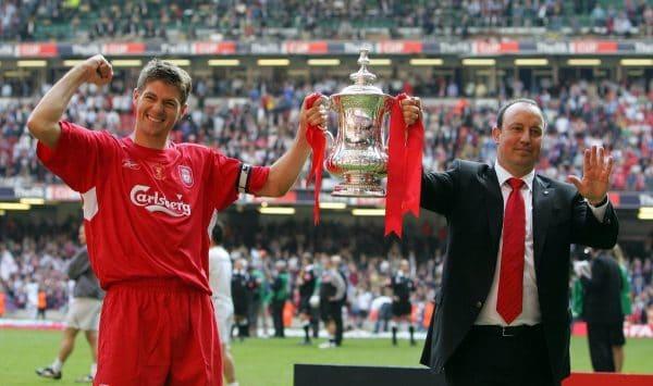 Gerrard, Benitez, 2006 FA Cup Final ((Nick Potts/PA))
