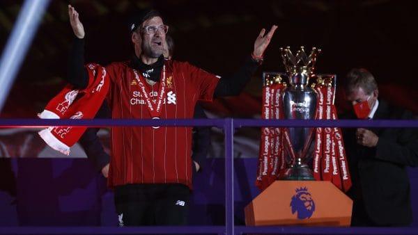 Jurgen Klopp, trophy (PA Media)