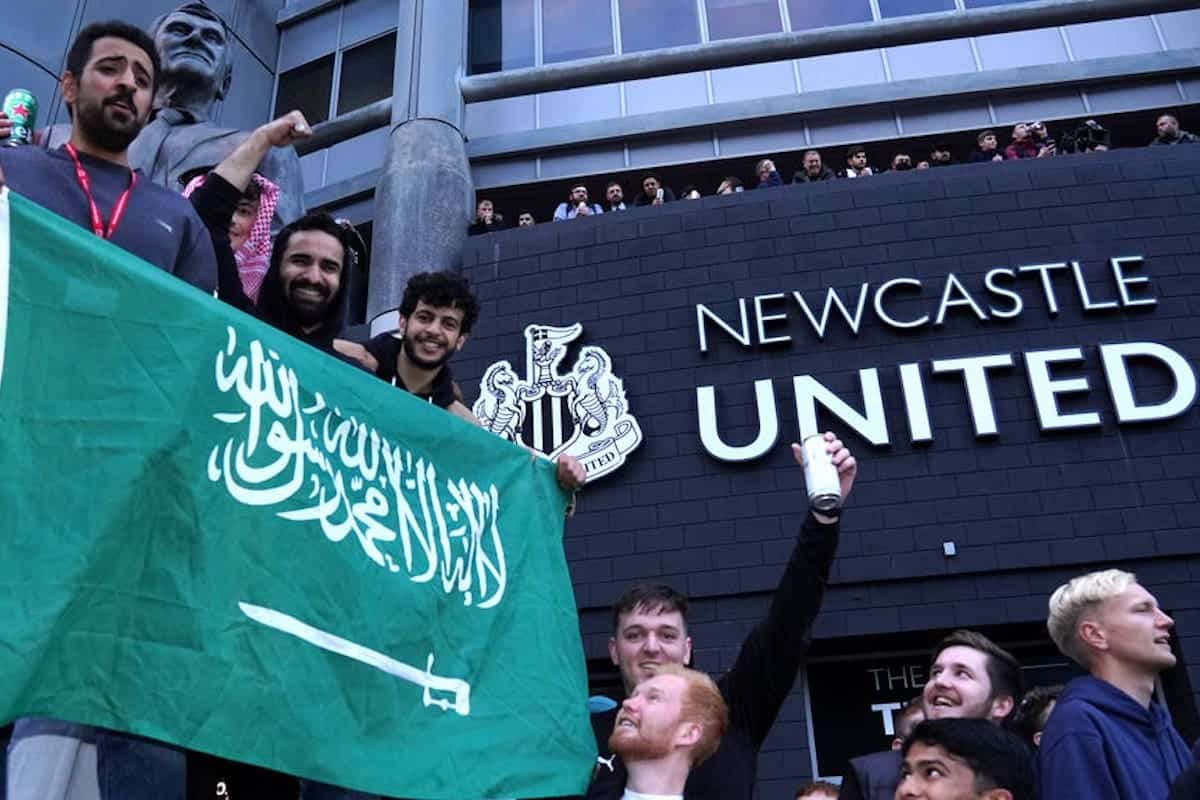 Newcastle fans takeover (PA Media)