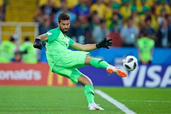 Roma Will Listen To Alisson Bids