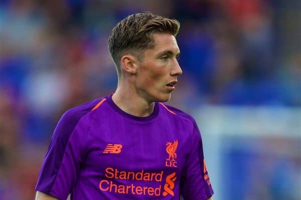 BIRKENHEAD, ENGLAND - Tuesday, July 10, 2018: Liverpool's Harry Wilson during a preseason friendly match between Tranmere Rovers FC and Liverpool FC at Prenton Park. (Pic by Paul Greenwood/Propaganda)