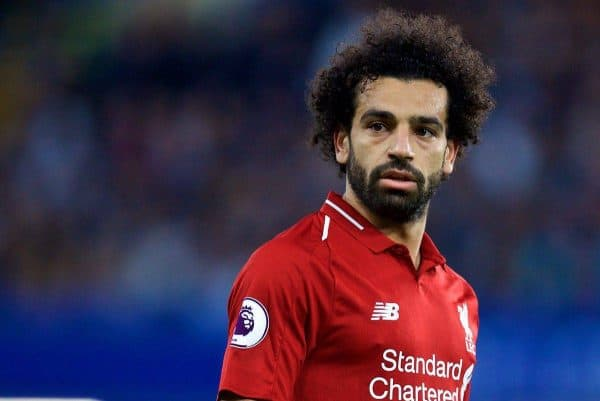 Napoli coach Ancelotti speaks about Salah ahead of Liverpool clash