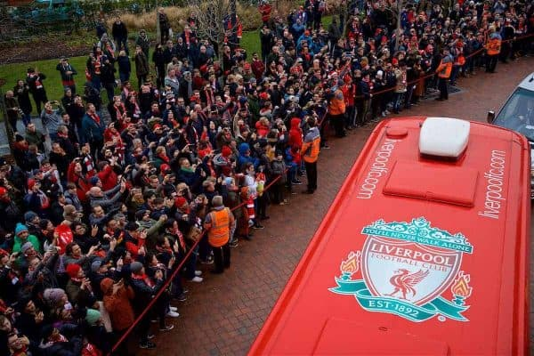 Liverpool v Arsenal, Premier League