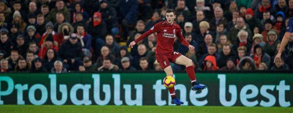 Andy Robertson, probably the best left back in the world. (Pic by David Rawcliffe/Propaganda)
