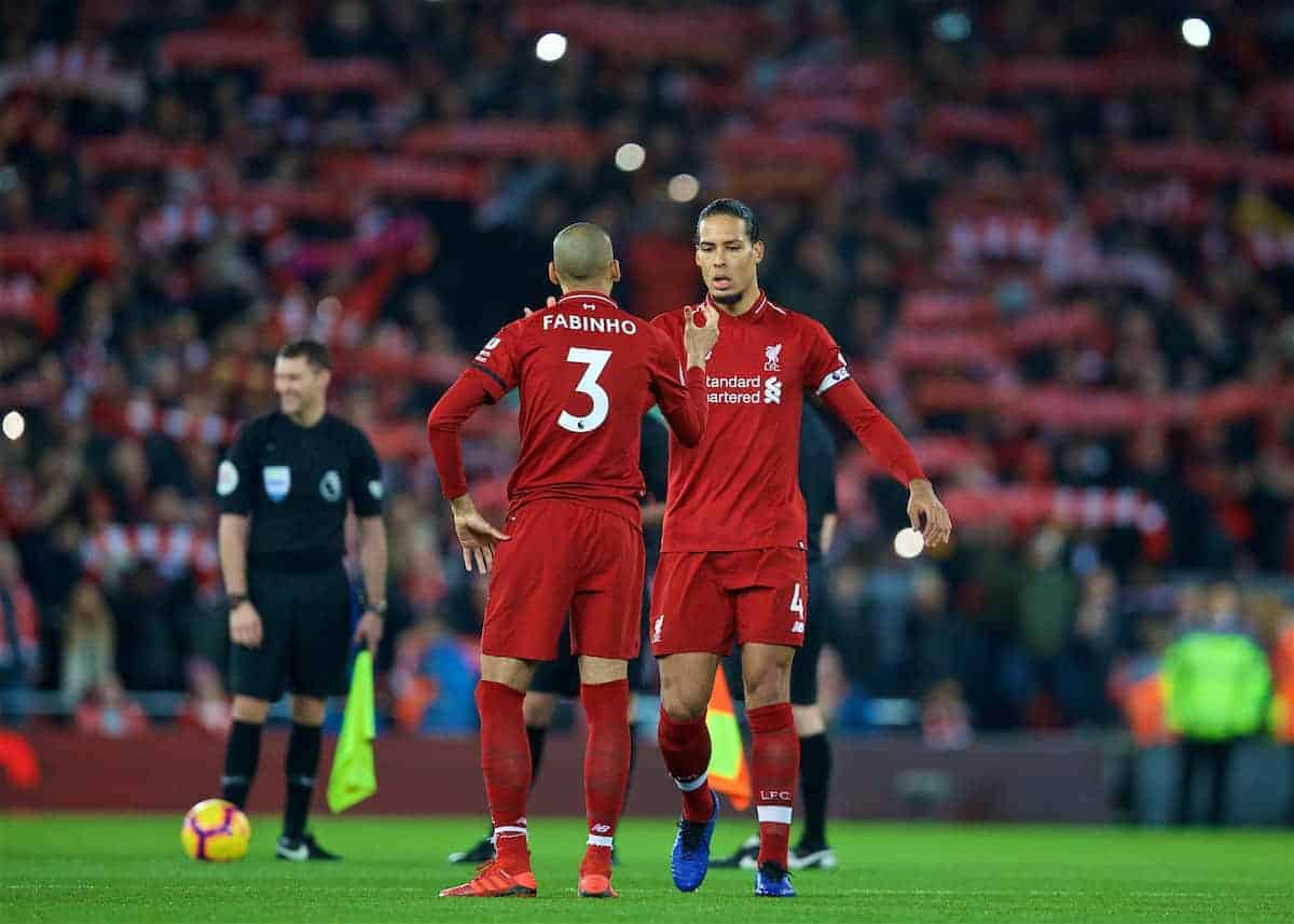 Fabinho and Van Dijk (Pic by David Rawcliffe/Propaganda)