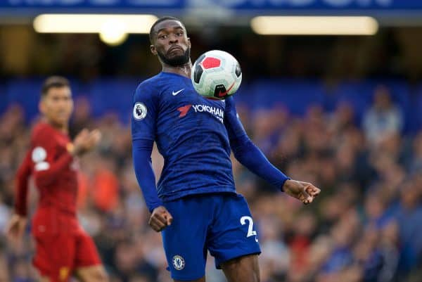 LONDON, ENGLAND - Sunday, September 22, 2019: Chelsea's Fikayo Tomori during the FA Premier League match between Chelsea FC and Liverpool FC at Stamford Bridge. (Pic by David Rawcliffe/Propaganda)