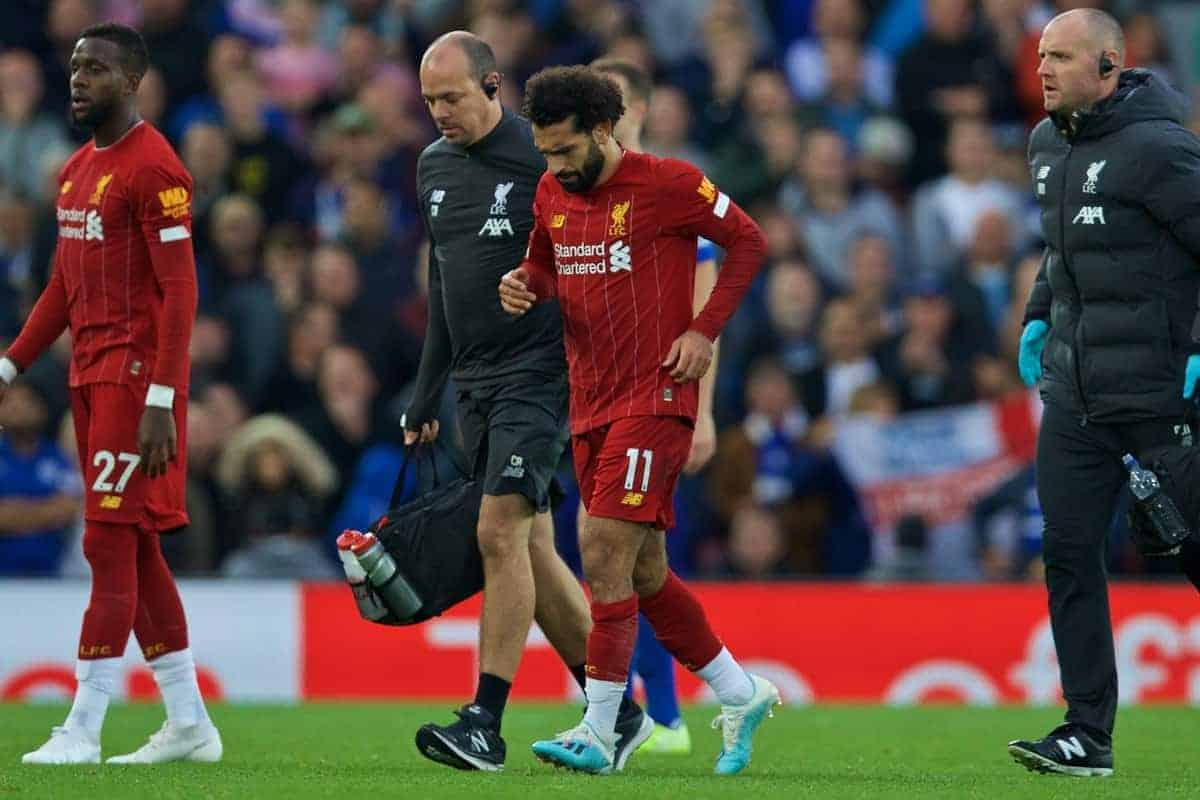 Analysing Mohamed Salah's ankle injury and the ongoing return to 100% fitness