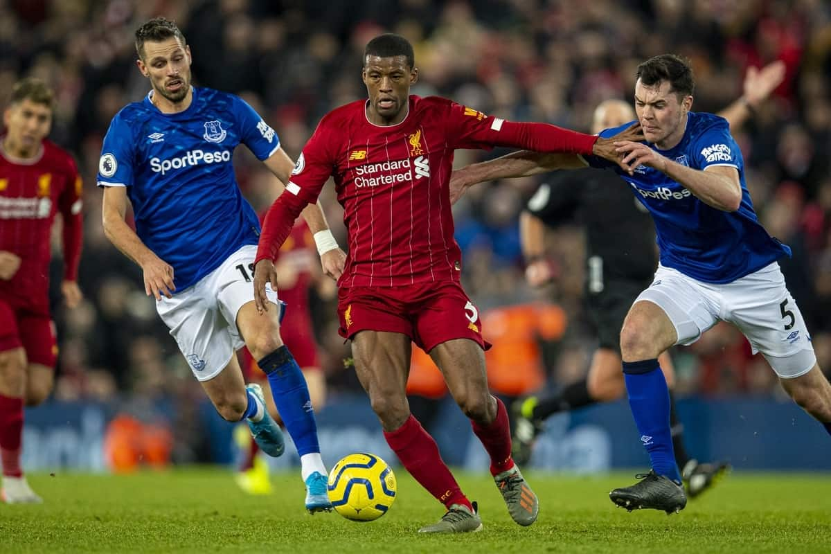A Merseyside Derby To Put Reds On Brink Of Title Everton Vs Liverpool Preview Liverpool Fc This Is Anfield