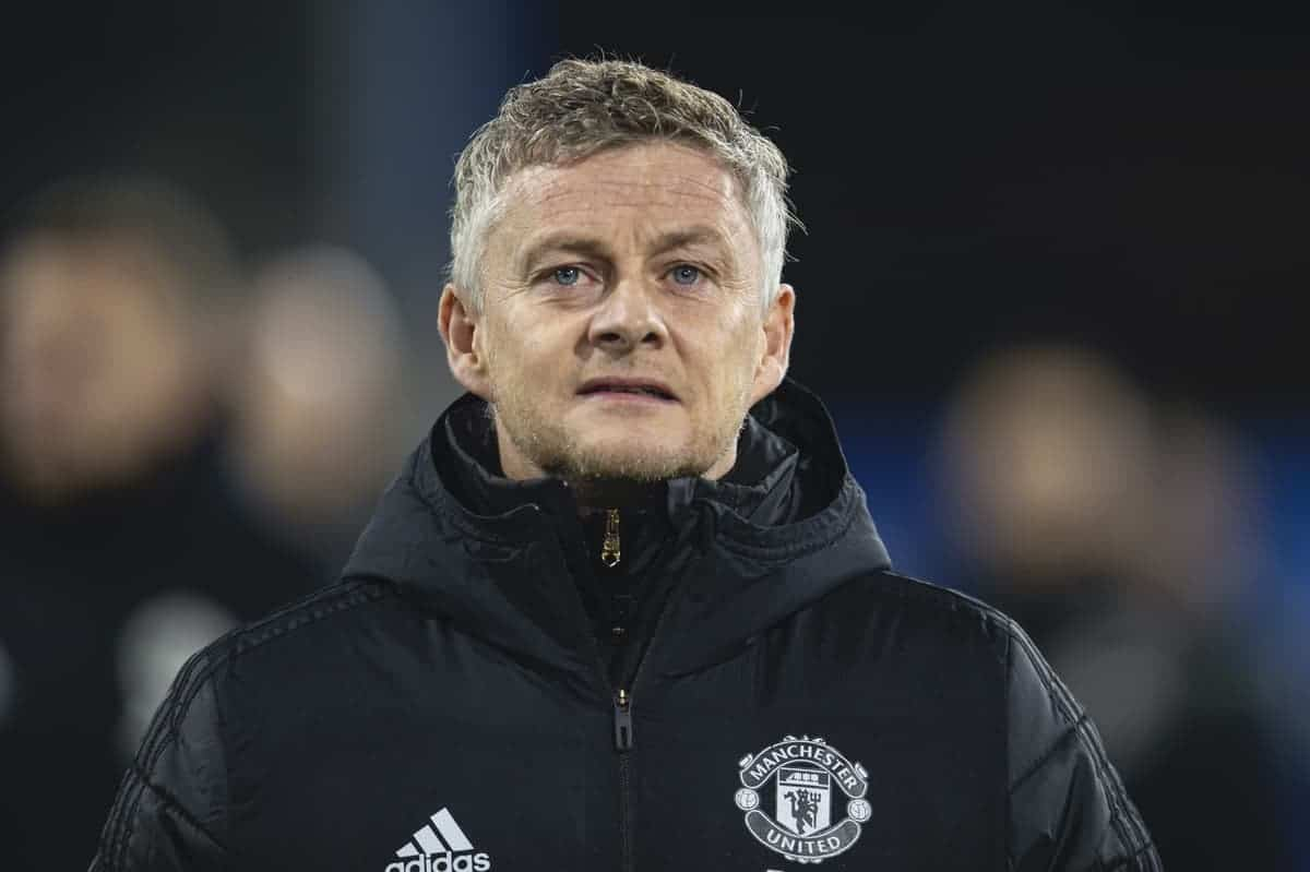 BURNLEY, ENGLAND - Saturday, December 28, 2019: Manchester United's manager Ole Gunnar Solskjaer before the FA Premier League match between Burnley FC and Manchester United FC at Turf Moor. (Pic by David Rawcliffe/Propaganda)