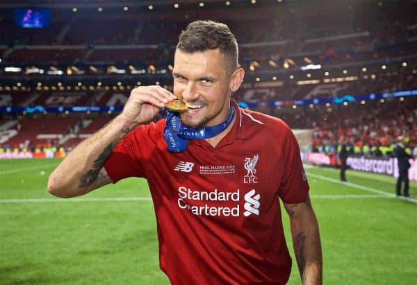 Liverpool demand £25m for Dejan Lovren