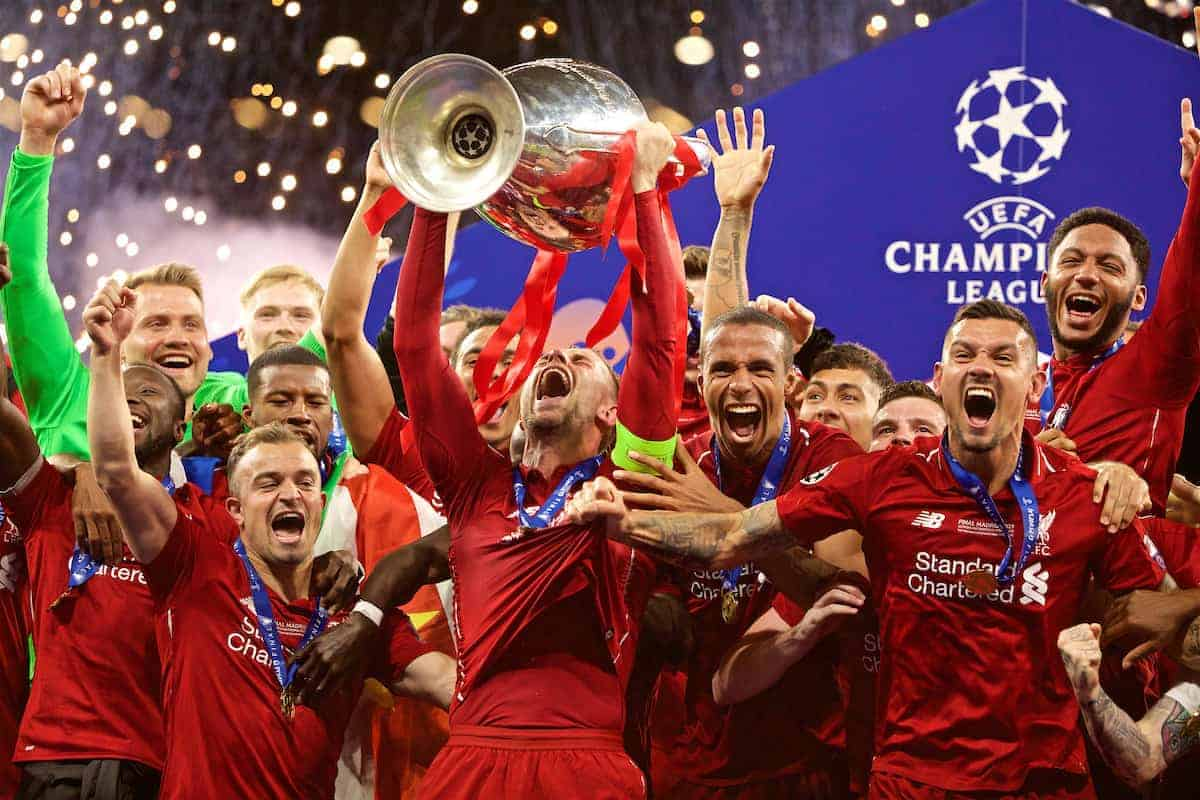 """Liverpool squad on """"living the dream"""" after """"unbelievable ..."""
