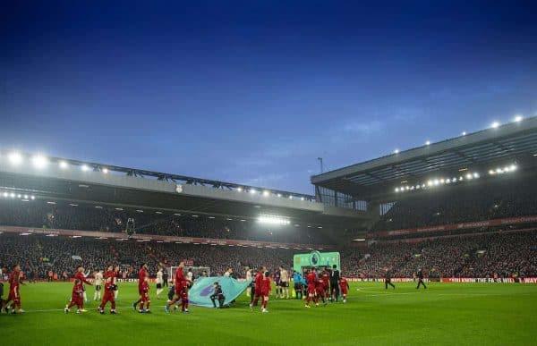 Anfield, pre match, general, night (Pic by David Rawcliffe/Propaganda)