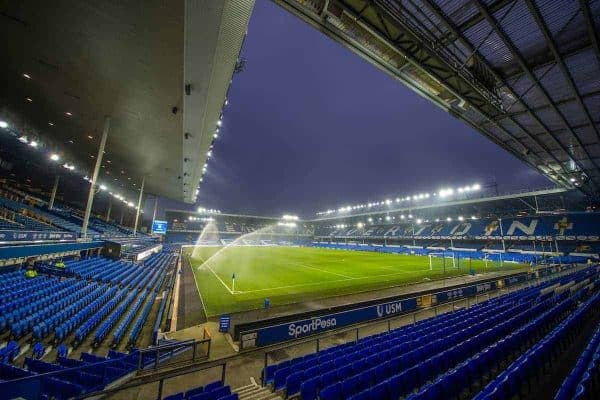 LIVERPOOL, ENGLAND - Tuesday, January 21, 2020: A general view of Goodison Park before the FA Premier League match between Everton FC and Newcastle United FC. (Pic by David Rawcliffe/Propaganda)