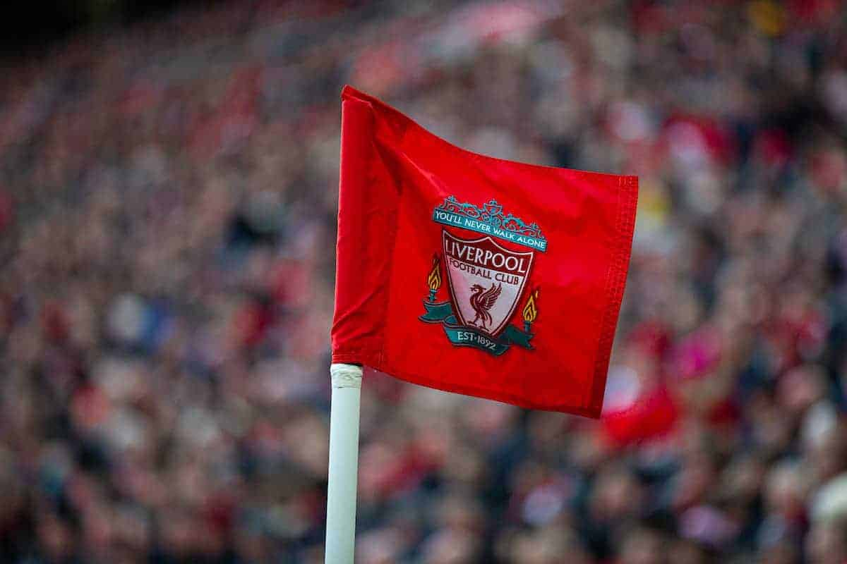 Anfield, corner flag, match, general (Pic by David Rawcliffe/Propaganda)