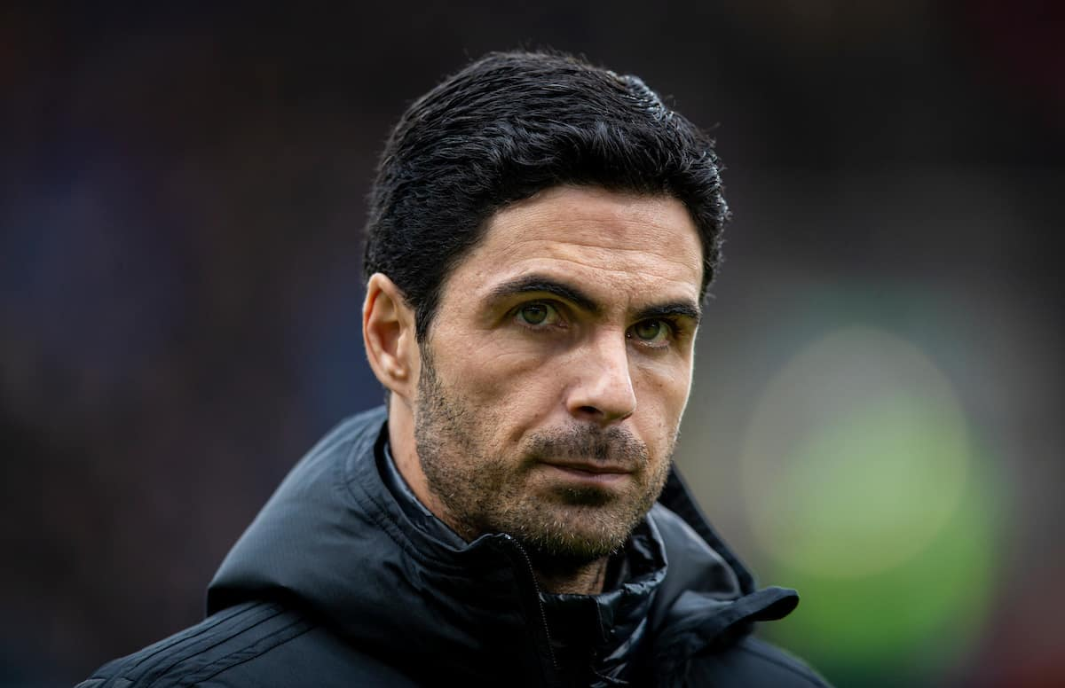 BURNLEY, ENGLAND - Sunday, February 2, 2020: Arsenal's manager Mikel Arteta pictured before the FA Premier League match between Burnley FC and Arsenal FC at Turf Moor. (Pic by David Rawcliffe/Propaganda)