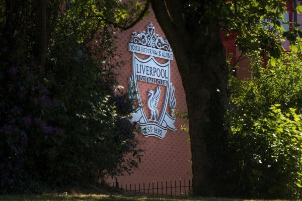 A general view of Anfield stadium from Stanley Park. (Pic by David Rawcliffe/Propaganda)